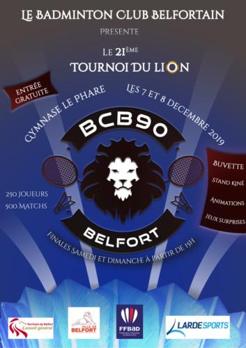 Convocations 21ème Tournoi du Lion